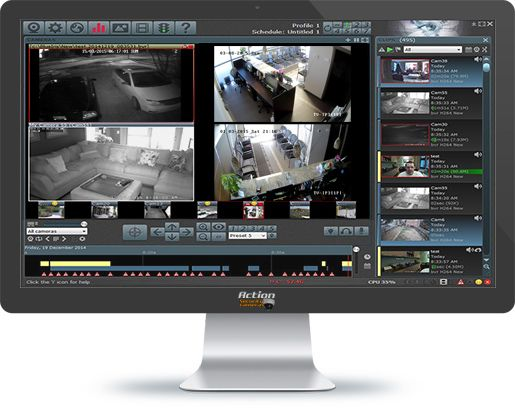 Action security cameras providing security cameras and for Security camera placement software